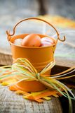 Oeufs de pâques photos stock