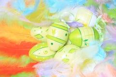 Oeufs de pâques Image stock