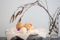 Oeufs de pâques Photo libre de droits