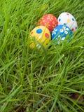 Oeufs de pâques cachés Photographie stock libre de droits