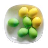 Oeufs de pâques colorés Photo libre de droits