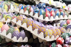 Oeufs de pâques décorés à Salzbourg Photographie stock