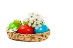 Oeufs de pâques décoratifs Images stock