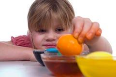 Oeufs de pâques de coloration Image libre de droits