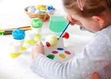 Oeufs de pâques de peinture photos libres de droits