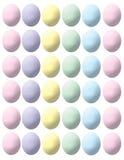 oeufs de pâques en pastel Images stock