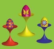 Oeufs de pâques, illustration de vecteur illustration libre de droits