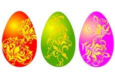 Oeufs de pâques, illustration de vecteur Photos stock