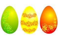 Oeufs de pâques, illustration de vecteur Photographie stock libre de droits