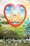 Oeufs de pâques peints Photos libres de droits