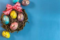 Oeufs de pâques peints Image stock