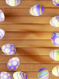Oeufs de pâques peints ENV 10 Photographie stock