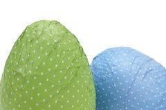 Oeufs de pâques pointillés Image stock