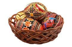 Oeufs de pâques roumains Image libre de droits