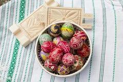 Oeufs de pâques traditionnels Images stock