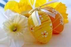 Oeufs de pâques Photographie stock