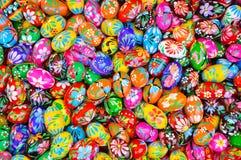 Oeufs orientaux colorés Images libres de droits