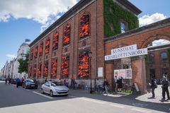Oeuvre d'art d'AI Weiwei, Copenhague, Danemark Photo libre de droits