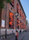Oeuvre d'art d'AI Weiwei, Copenhague, Danemark Image libre de droits