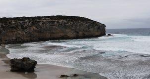 Oever bij Kangoeroeeiland, Australi? 4K stock footage