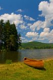 Oever van het meer stock foto