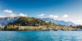 Oever van het meer van Bellagio, Italië Royalty-vrije Stock Foto