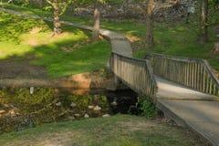 Oever van het meervoetgangersbrug in Tennessee Royalty-vrije Stock Afbeeldingen