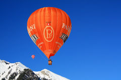 oex för festival för chateau D för 2009 ballonger Arkivbild