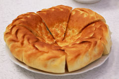 Oezbekistaans brood royalty-vrije stock afbeeldingen