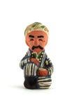 Oezbekistaans Ceramisch Beeldje Royalty-vrije Stock Fotografie