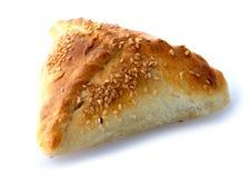 Oezbekistaanse en Aziatische pastei met lam, samsa Royalty-vrije Stock Afbeeldingen