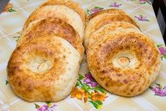 Oezbekistaanse kleine cakes Stock Afbeeldingen