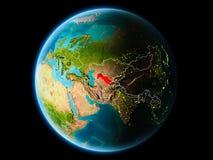 Oezbekistan in de avond Stock Foto's
