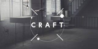 Ofício Art Handmade Talent Skilled Concept foto de stock