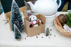 Ofício de papel de Papai Noel Foto de Stock Royalty Free