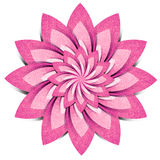 Ofício de papel recicl origami da flor foto de stock royalty free