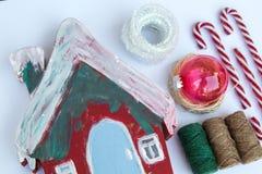 Ofício do Natal imagens de stock