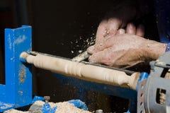 Ofício em torno do trabalho do carpinteiro Fotografia de Stock