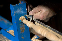 ofício em torno do trabalho do carpinteiro Fotos de Stock