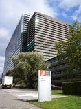 Ofício Europeu de Patentes, EPO, em Rijswijk os Países Baixos fotografia de stock royalty free