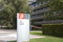 Ofício Europeu de Patentes, EPO, em Rijswijk os Países Baixos foto de stock
