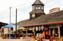 Ofício justo em Dalcahue fotografia de stock royalty free