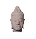 Ofícios da escultura do arenito de Camboja feitos a mão com o clippin Foto de Stock