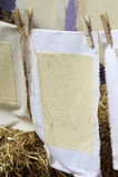 Ofícios de papel 2 Fotografia de Stock