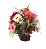 Ofícios falsificados do potenciômetro de flor fotos de stock royalty free