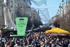 Ofícios tradicionais justos, Vilnius Imagens de Stock Royalty Free