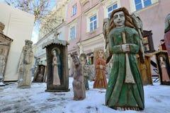 Ofícios tradicionais justos, Vilnius Fotografia de Stock Royalty Free