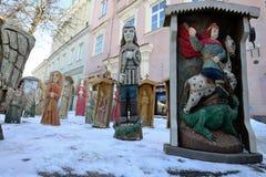 Ofícios tradicionais justos, Vilnius Foto de Stock