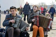 Ofícios tradicionais justos, Vilnius Imagem de Stock Royalty Free