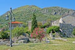 Oförglömlig semester i Montenegro Arkivbild